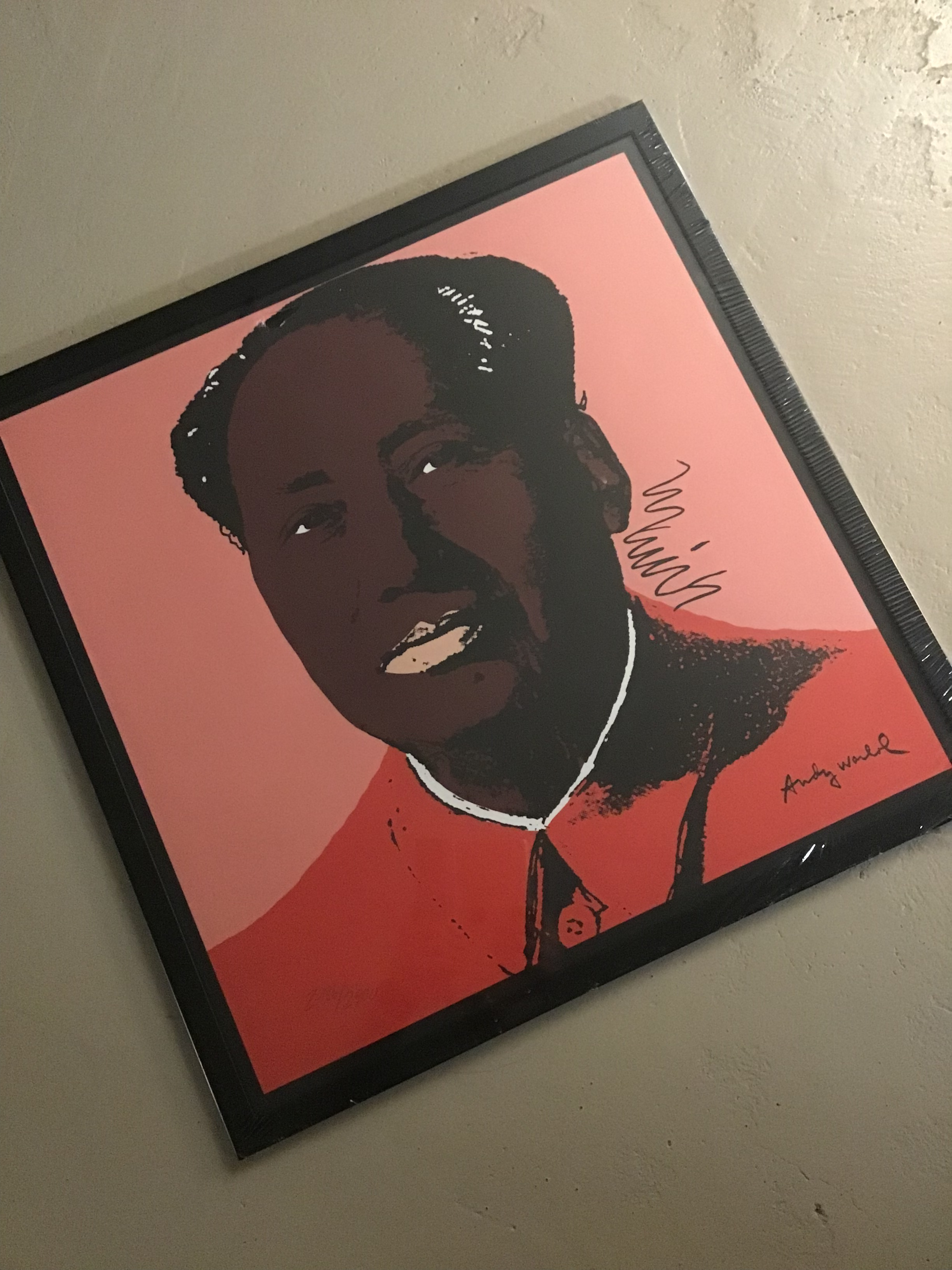 "LITOGRAFIA ""MAO""BY ANDY WARHOL ""CMOA LIMITED EDITION"""