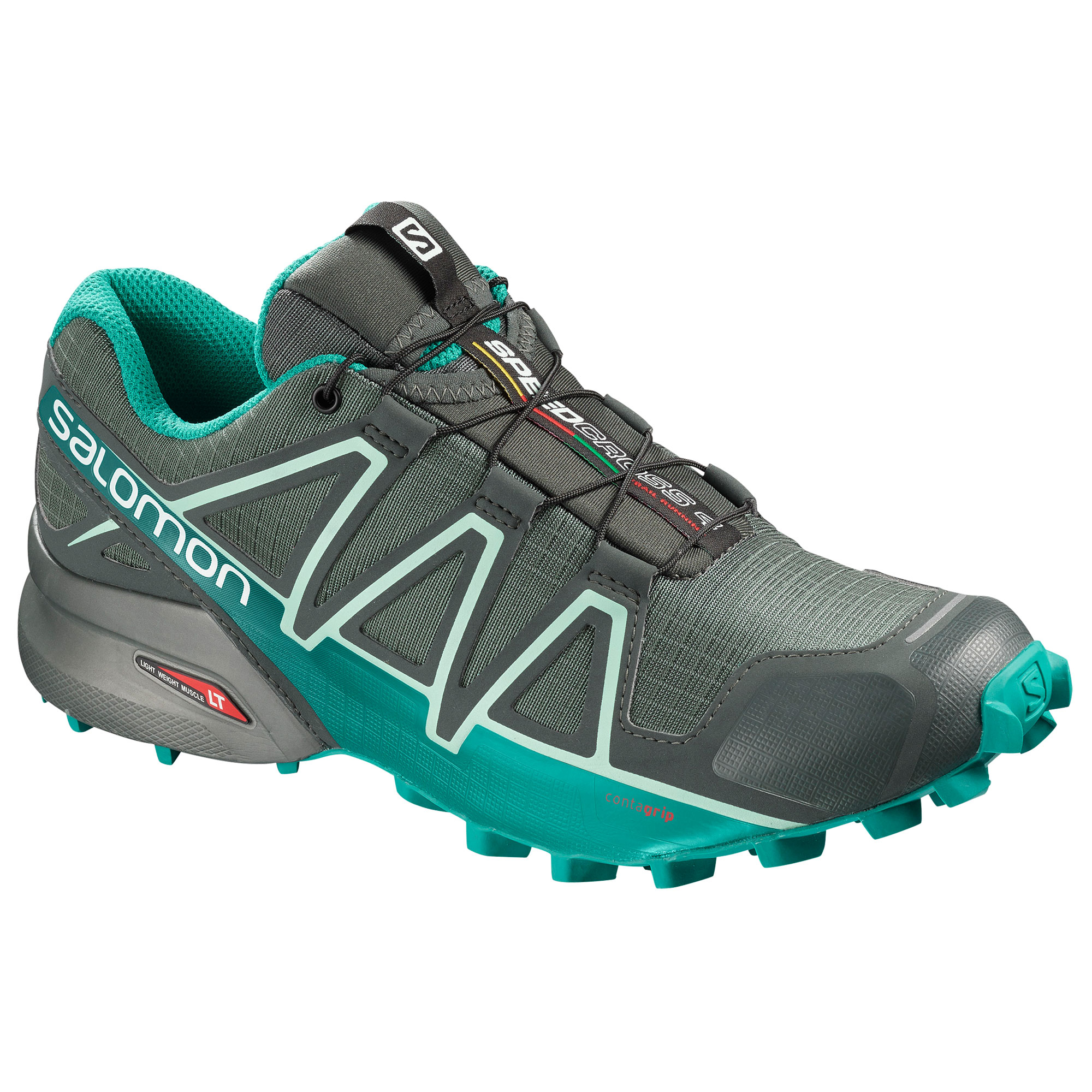 Scarpa donna SALOMON SPEEDCROSS 4 GTX grigio
