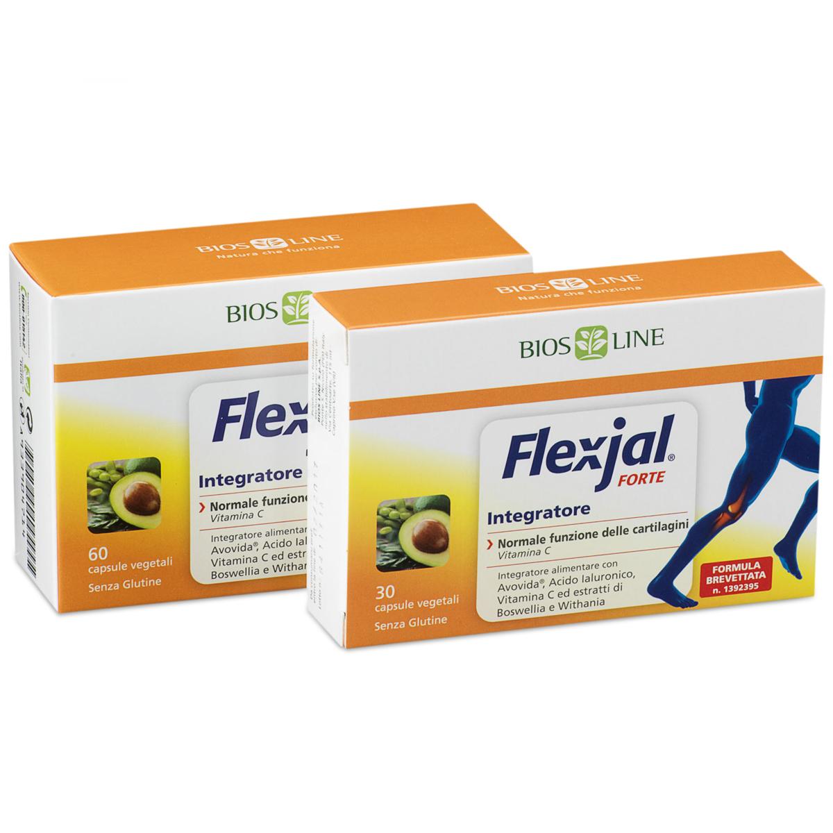 Flex-jal Forte Integratore - 60 capsule