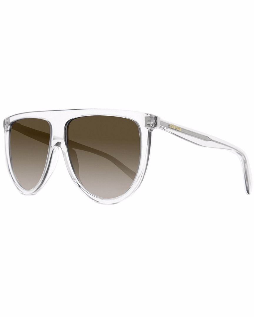 Céline - Occhiale da Sole Donna, Thin Shadow, Transparent Grey/Brown Shaded 41435/S  RDN/Z3  C61