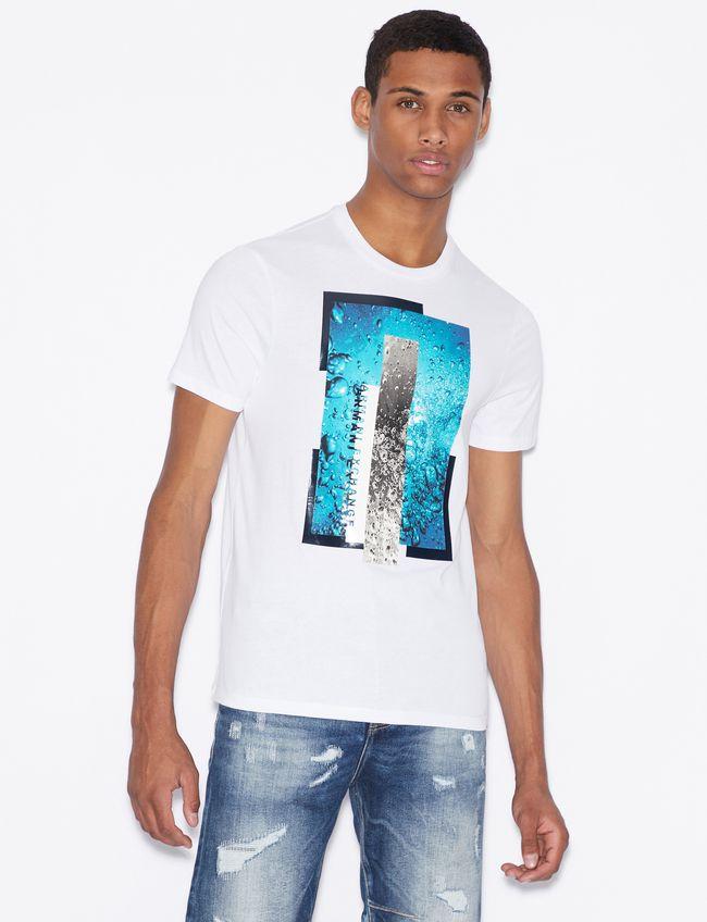 T-shirt uomo ARMANI EXCHANGE con stampa