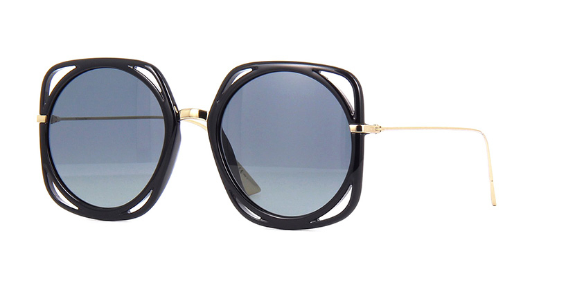 Christian Dior - Occhiale da Sole Donna, DIRECTION, Matte Black/Blue Grey Shaded 2M2/1I   C56