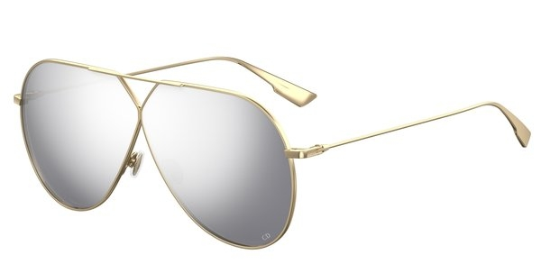 Christian Dior - Occhiale da Sole Donna, DIORSTELLAIRE3, Matte Gold/Silver Shaded J5G/DC   C65