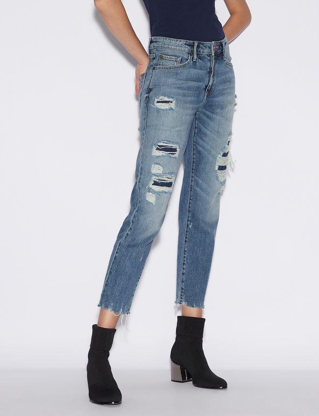Jeans donna ARMANI EXCHANGE boyfriend denim