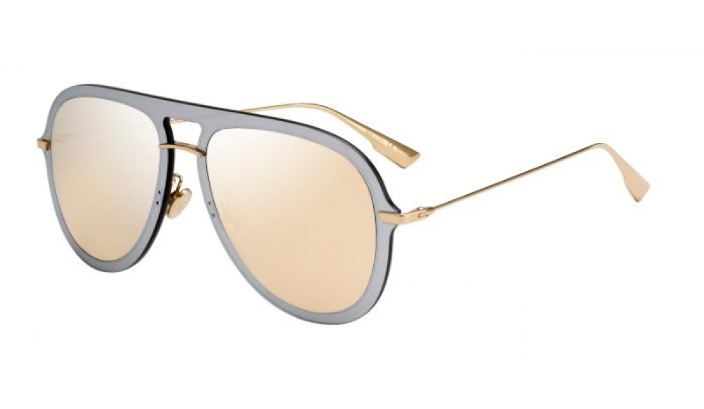 Christian Dior - Occhiale da Sole Donna, DIOR ULTIME 1, Rose Gold/Gold Shaded AVB/SQ  C57
