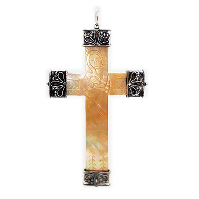 Croce Pettorale in Madreperla EE3522