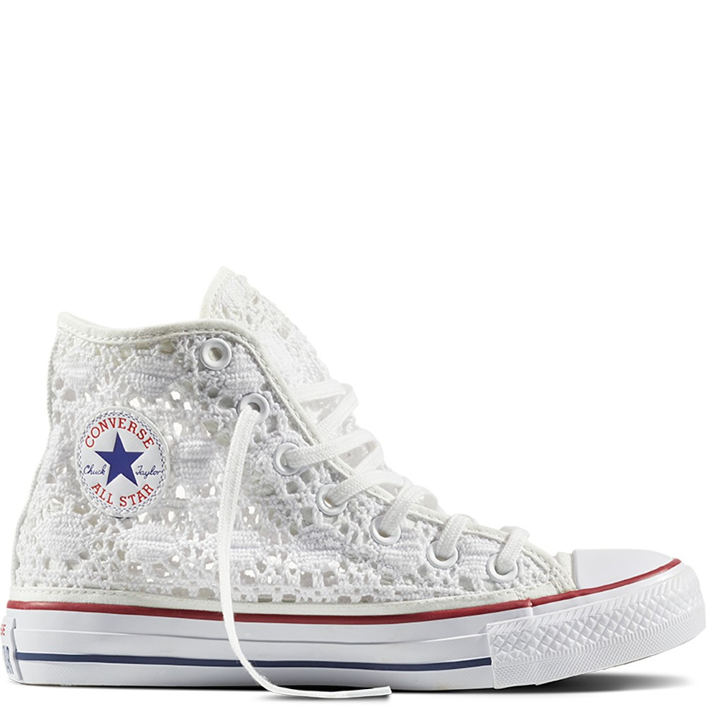 Scarpa donna CONVERSE CT ALL STAR HI CROCHET