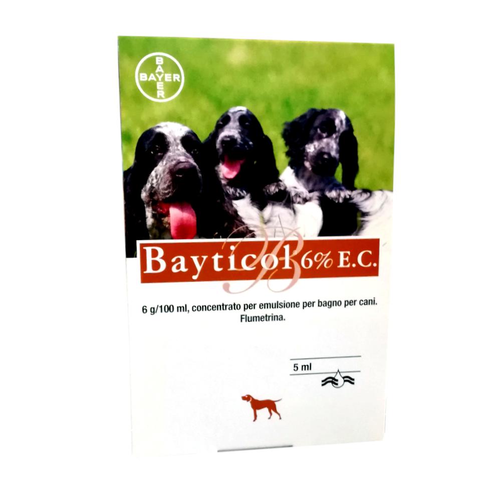 BAYTICOL 6% - ANTIPARASSITARIO PER BAGNO O SPUGNATURE