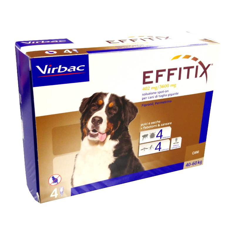 EFFITIX CANI da 40 ai 60 kg - SPOT-ON PER CANI
