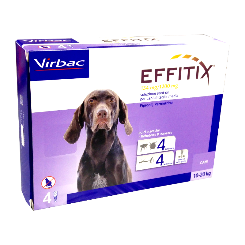 EFFITIX CANI da 10 ai 20 kg - SPOT-ON PER CANI