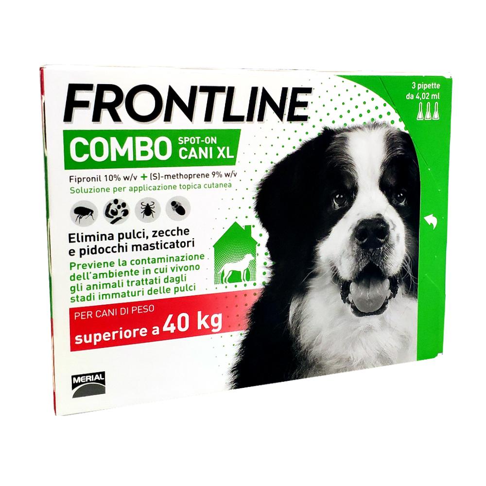 FRONTLINE COMBO cani oltre 40 kg - ANTIPARASSITARIO SPOT-ON PER CANI