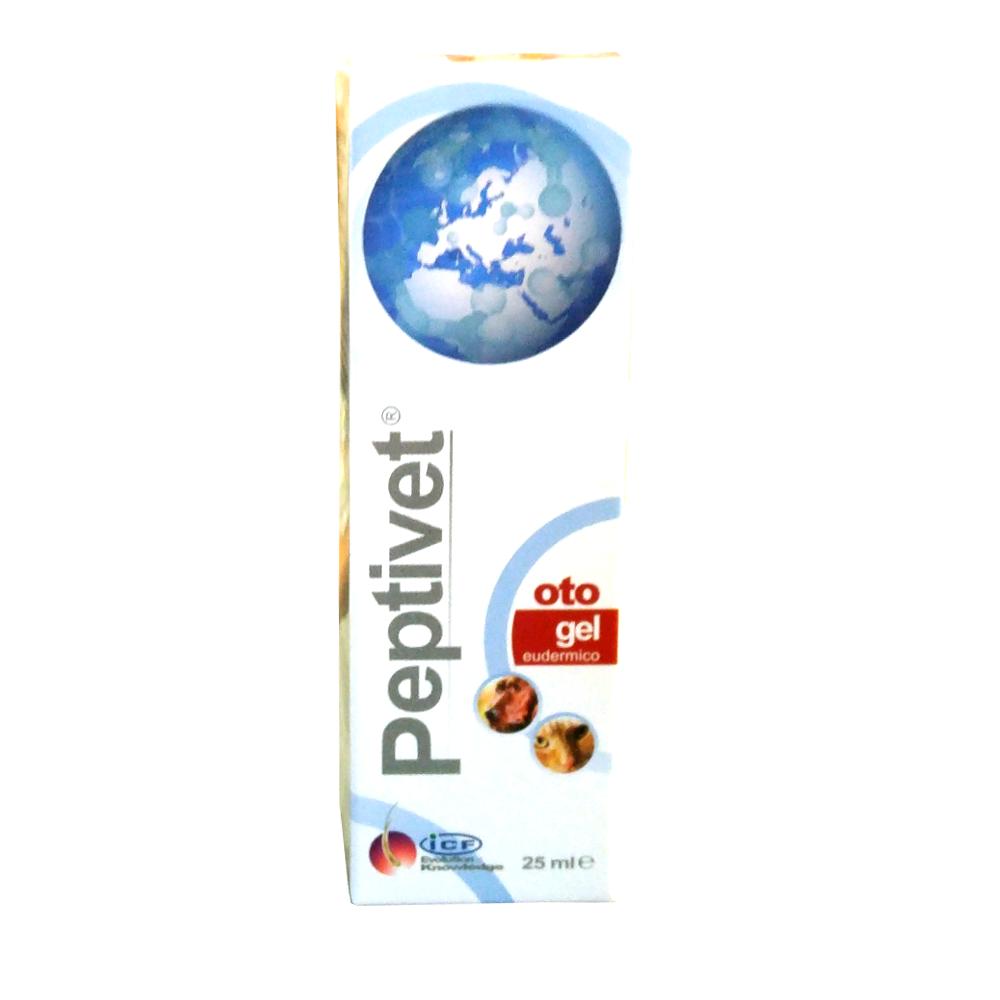 PEPTIVET OTO 25 ml - Gel otologico eudermico per cani e gatti