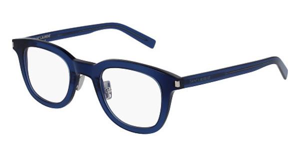 Yves Saint Laurent - Occhiale da Vista Unisex, SL 141, Matte Blue 003  C46