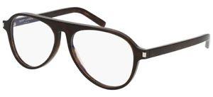 Yves Saint Laurent - Occhiale da Vista Uomo, SL 159, Dark Havana 004  C55