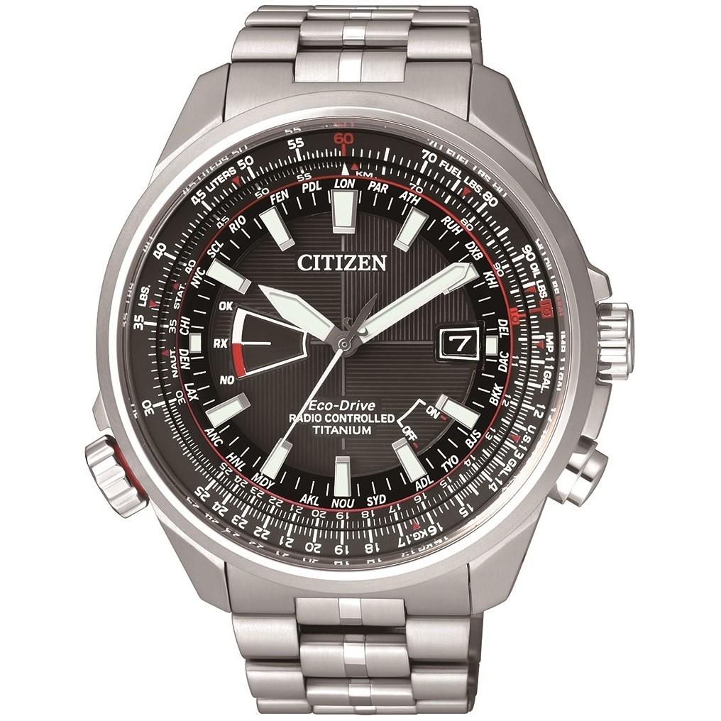 Orologio Cronografo Uomo Citizen Pilot