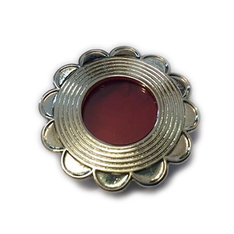 Teca reliquiario in metallo argentata GC03A