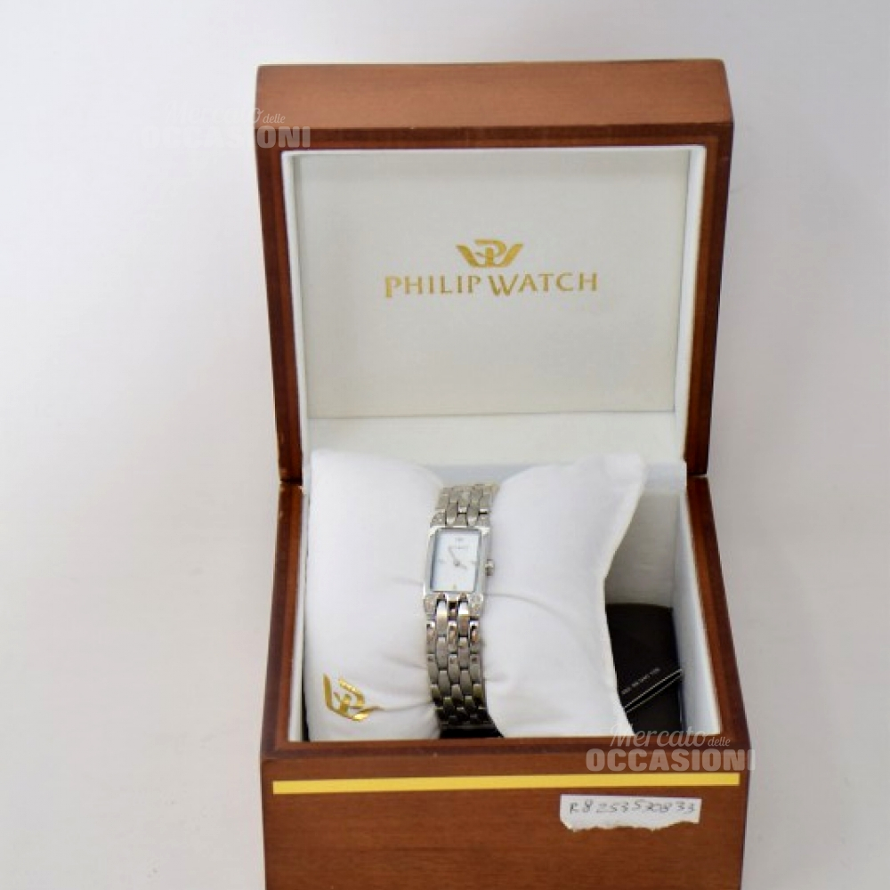 Orologio Philip Watch Con Diamanti Incastonati 8033384003833-0098849