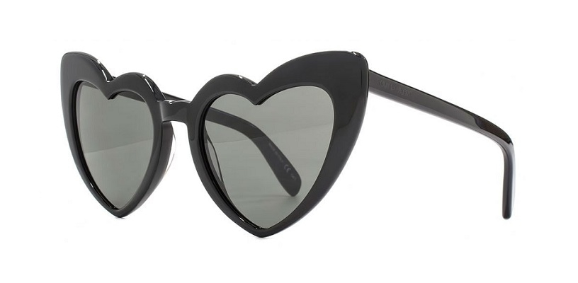 Yves Saint Laurent - Occhiale da Sole Donna, LOULOU SL 181, Black/Grey Shaded 001  C54