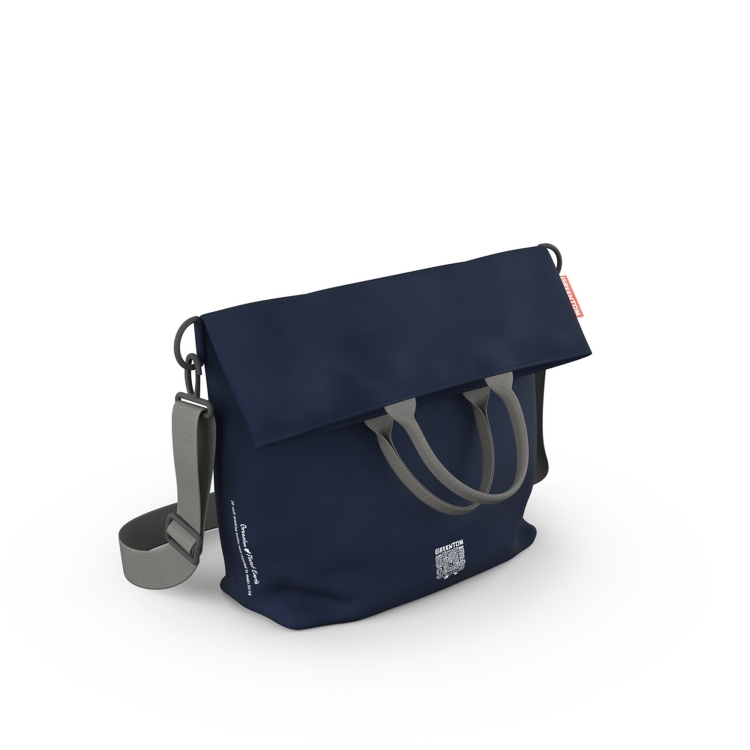 Borsa porta pannolini per cambio Diaper bag GREENTOM Blu