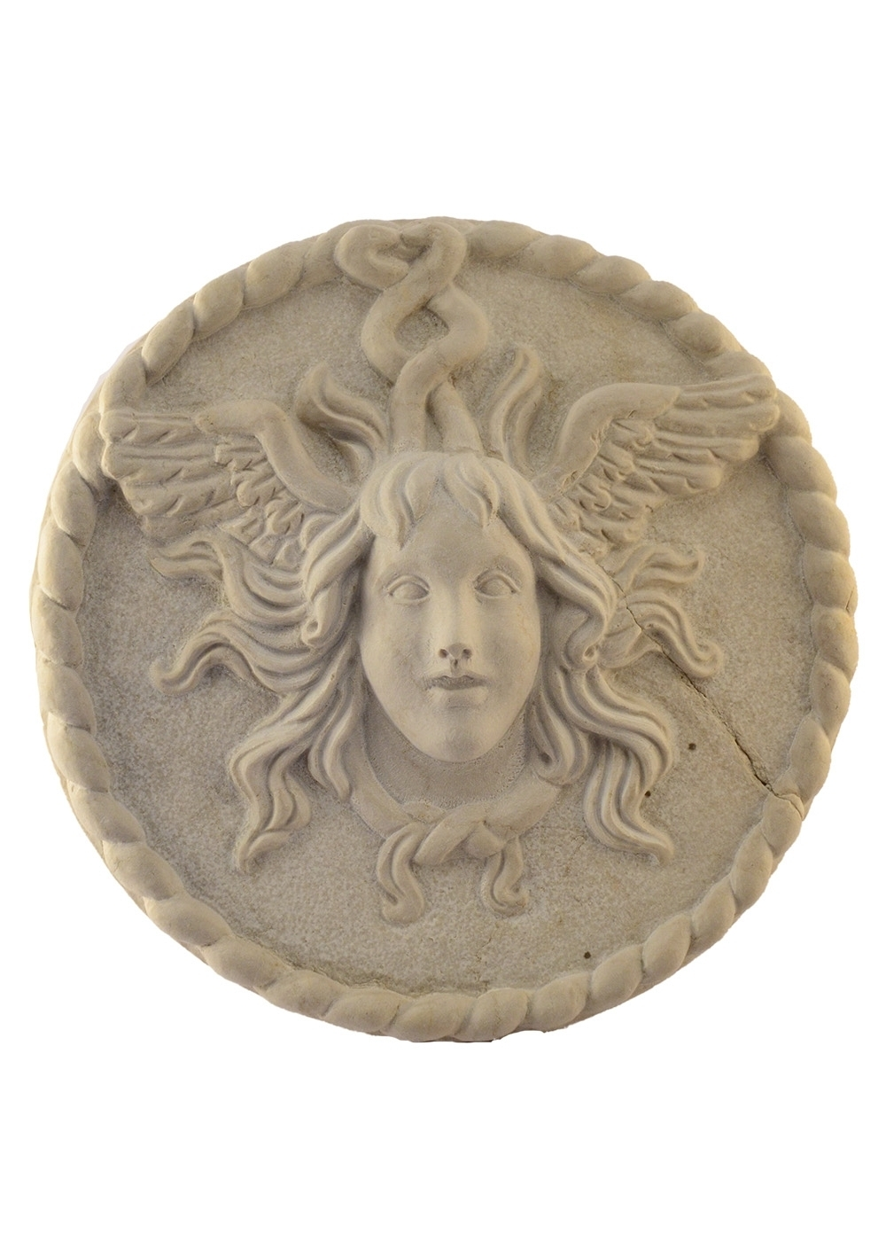 Best price Marble Grotesque Mask Wall Ornamental Jellyfish