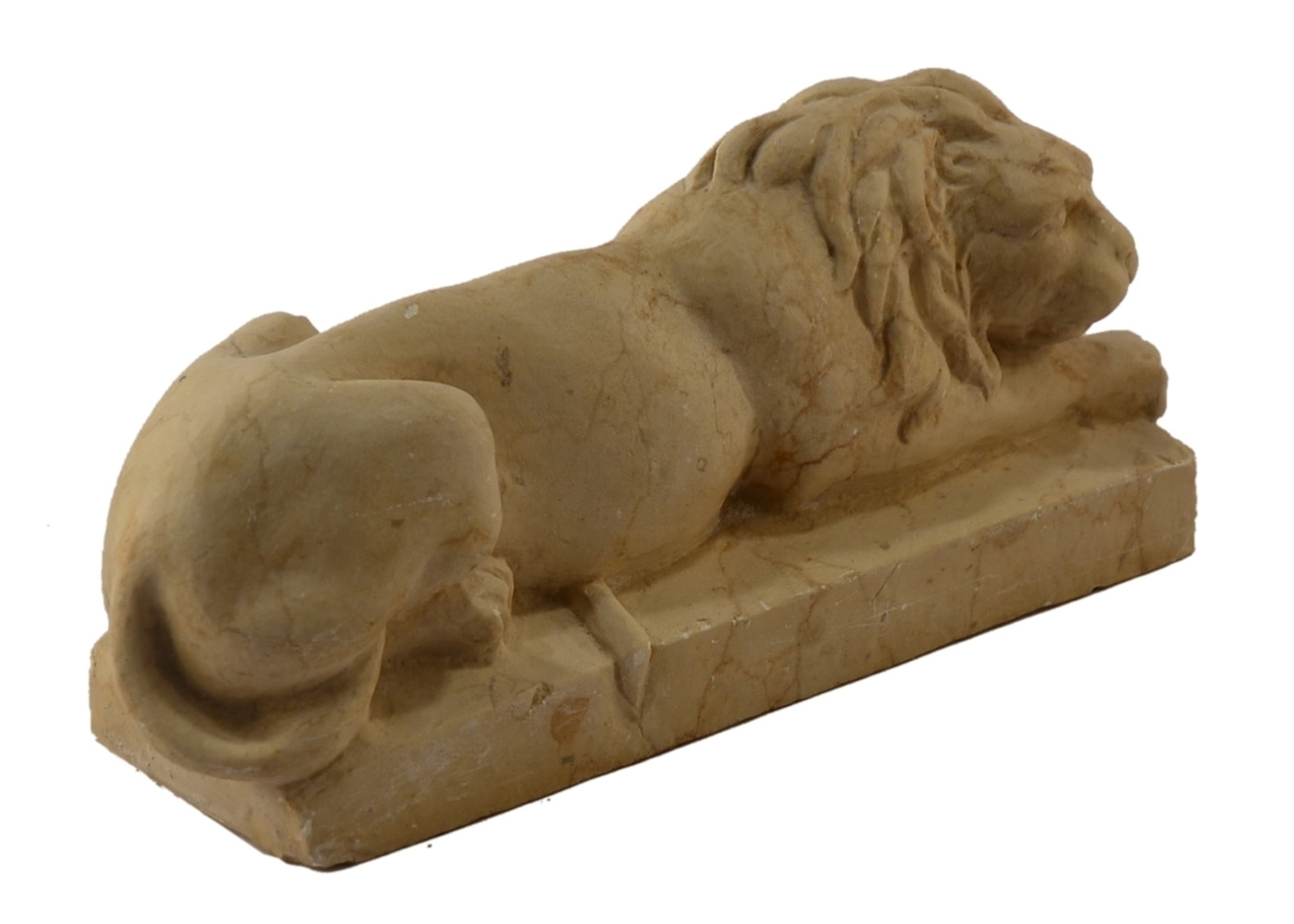 Best price Marble Lion Cub Paperweight Table Classical
