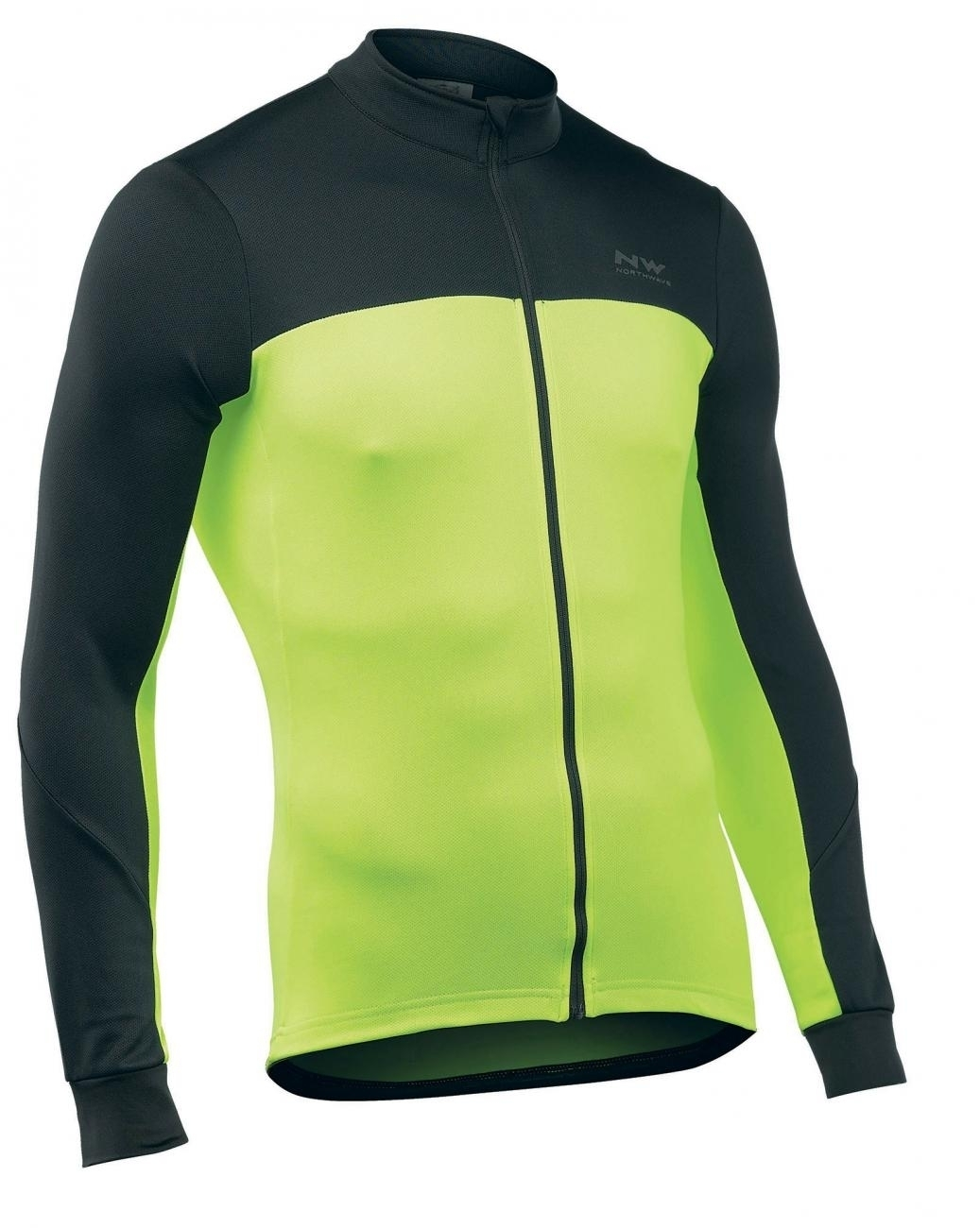 Best price Northwave Man cycling jersey long sleeves FORCE