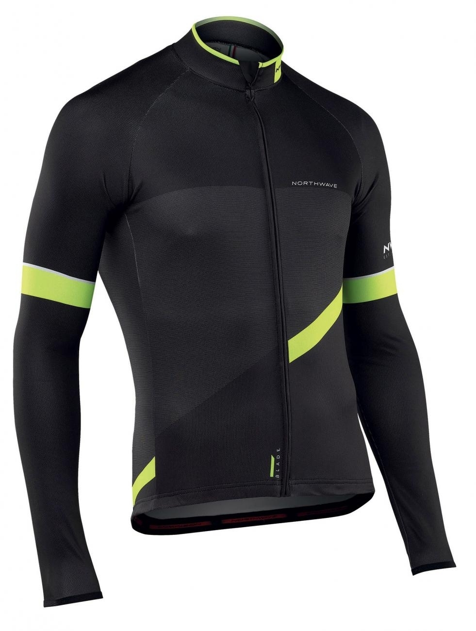 Best price Northwave Man cycling jersey long sleeves BLADE