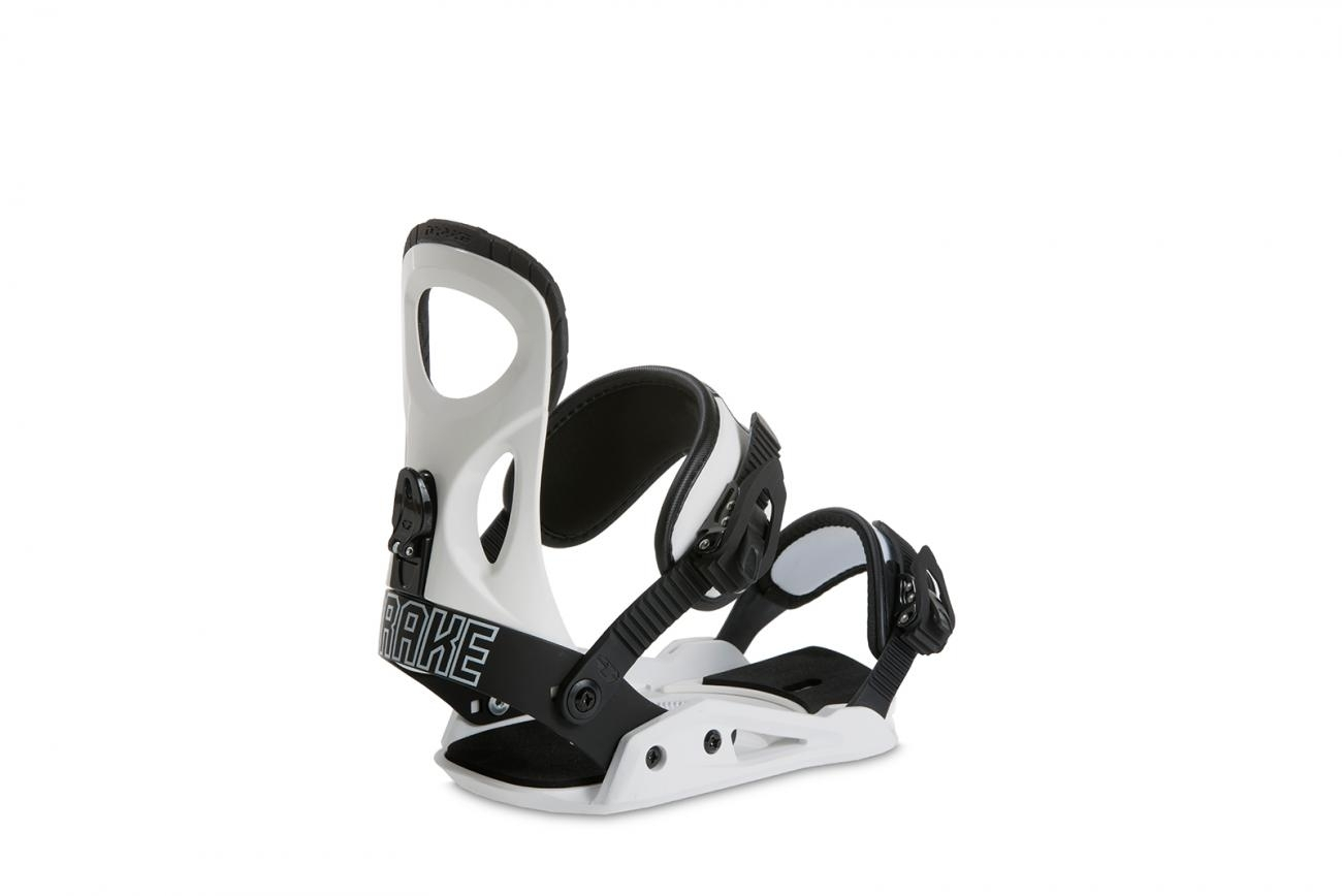 DRAKE Men's Snowboard bindings KING white