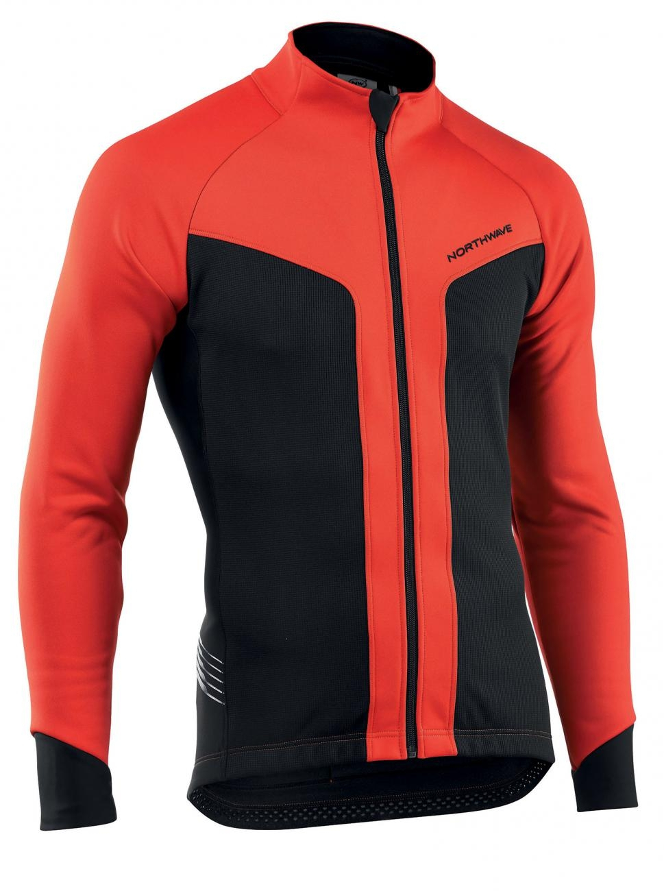 NORTHWAVE Man cycling jacket RELOAD - selective protection red/black