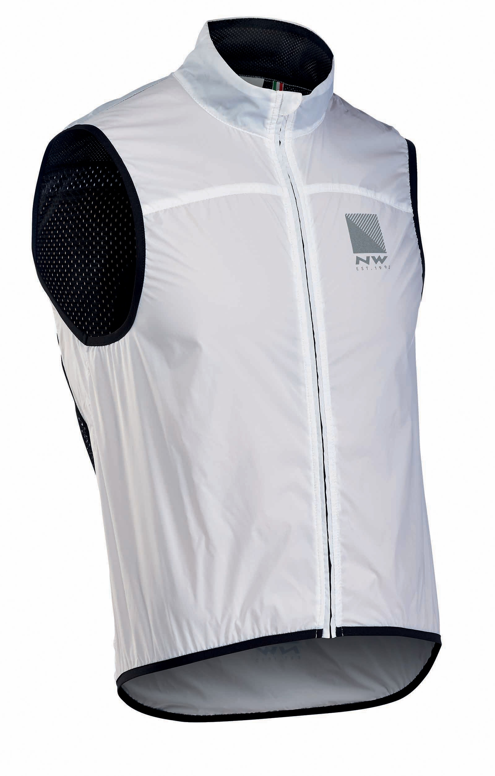 NORTHWAVE Man cycling vest with back mesh BREEZE 2 white