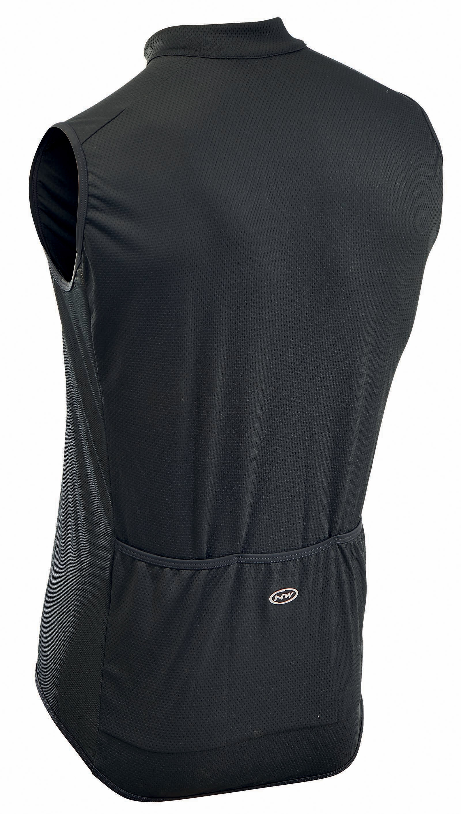 NORTHWAVE Man cycling jersey sleeveless FORCE black