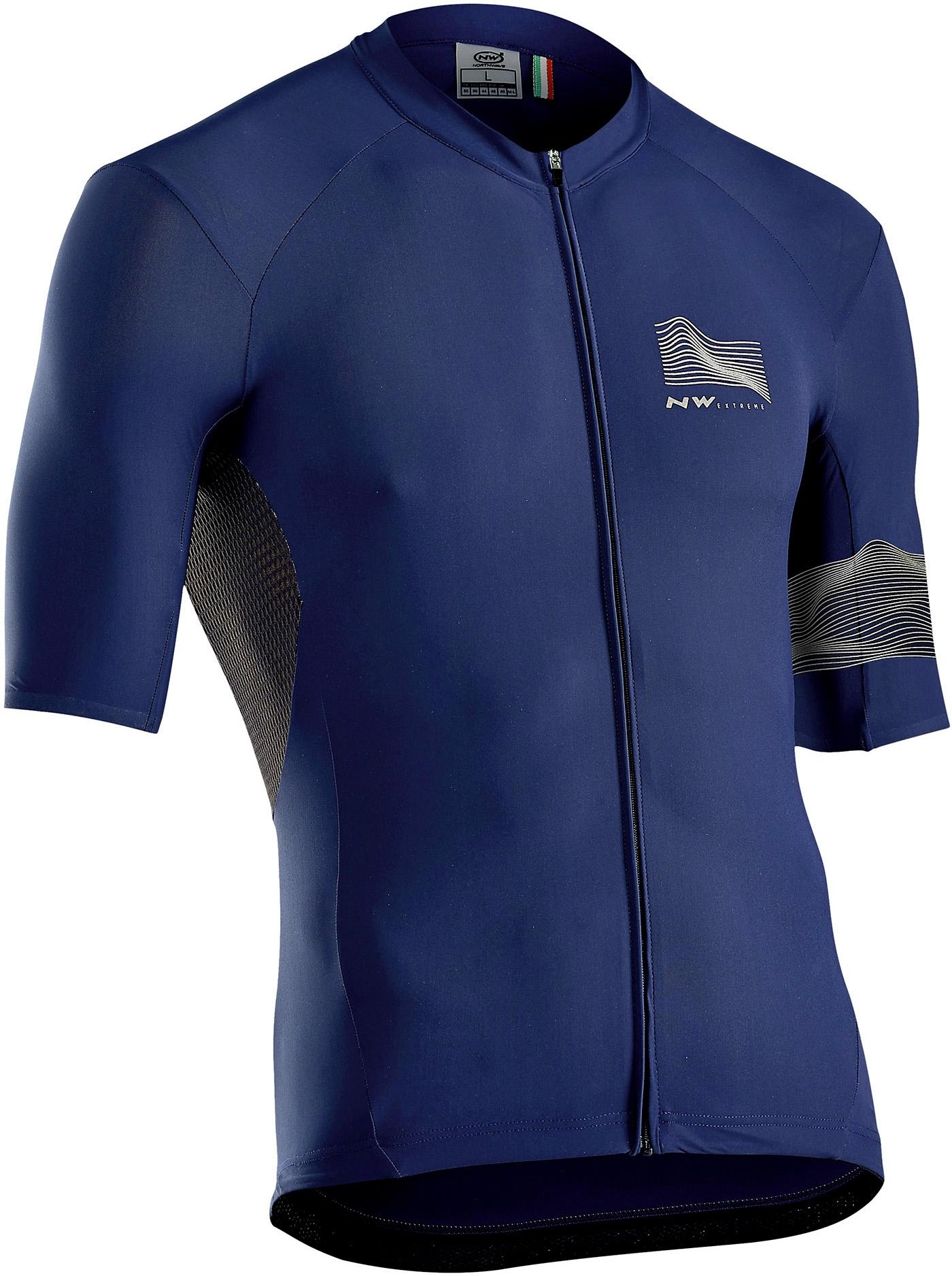 NORTHWAVE Man bike jersey short sleeves EXTREME 3 blue