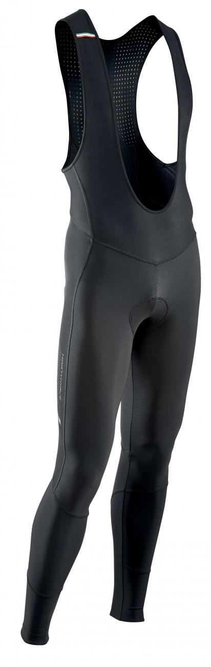 NORTHWAVE Man cycling bib tights DYNAMIC - mid season black