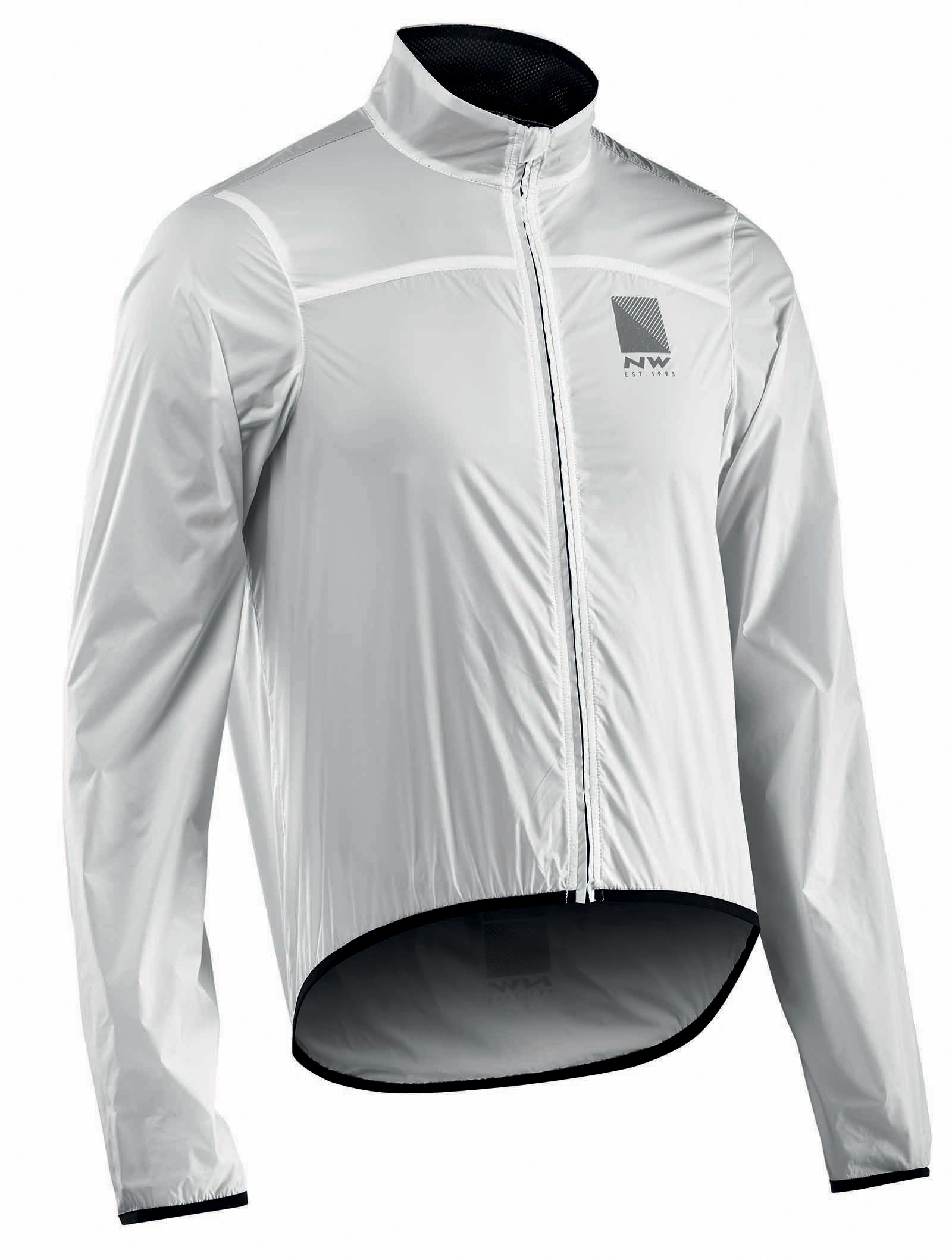 NORTHWAVE Man cycling jacket BREEZE 2 white