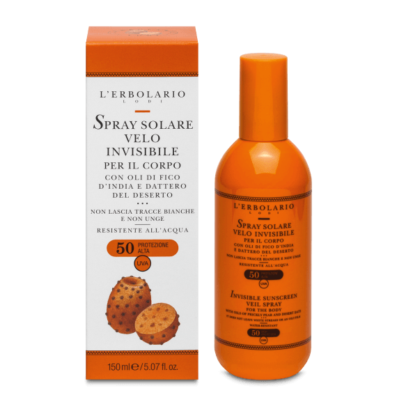 Spray Solare Velo Invisibile SPF50 150 ml L' Erbolario