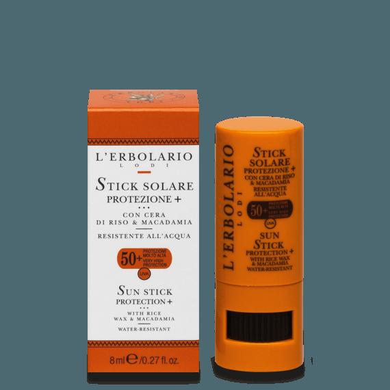 Stick solare Viso Protezione+ SPF50+ 8 ml L' Erbolario