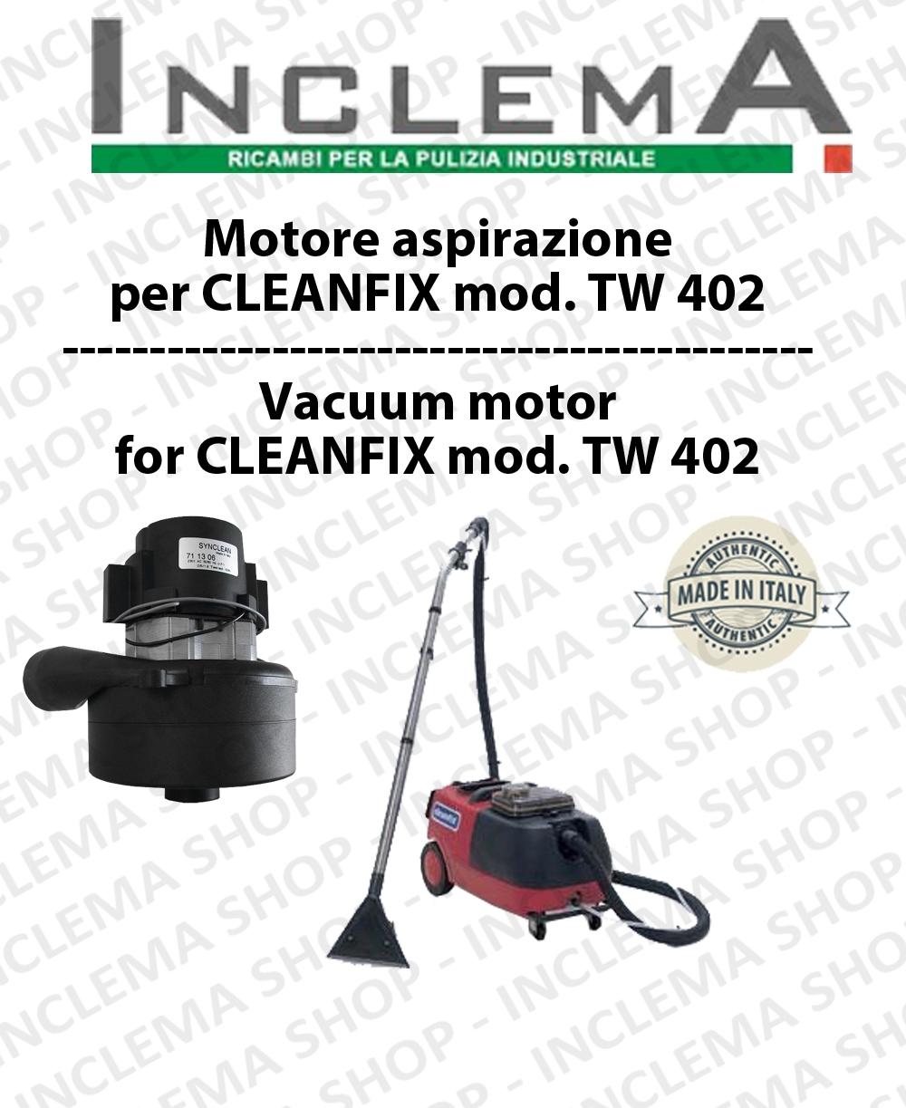 TW402 Motore de aspiración para aspiradora CLEANFIX
