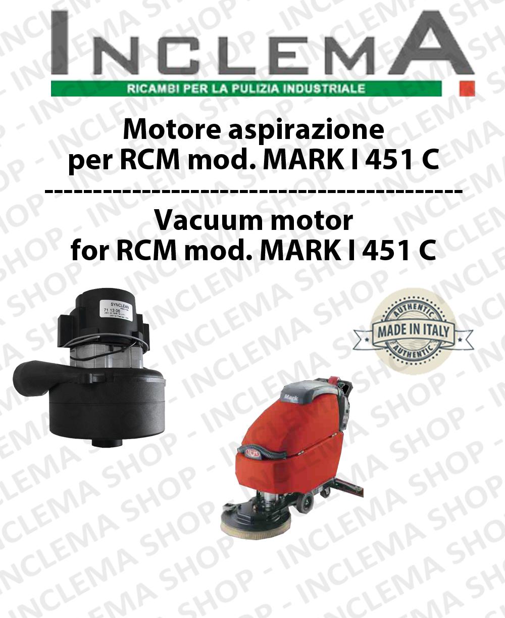 MARK I 451 C motor de aspiración aspirazione fregadora RCM