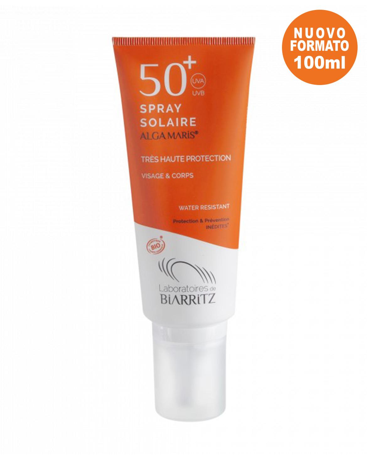 Spray Solare Viso e Corpo SPF 50+ Alga Maris