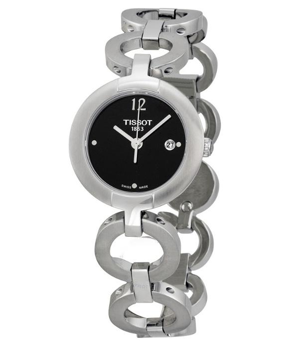 Orologio Tissot donna Pinky, cassa e bracciale in Acciaio T084.210.11.057.00