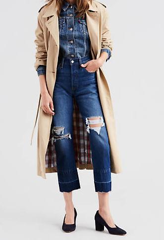 Jeans donna LEVI'S 501 ORIGINAL CROPPED