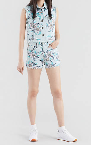 Short donna LEVI'S 501 HIGH WAISTED