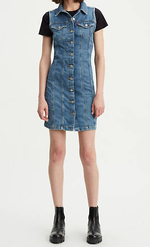 Abito donna LEVI'S SLEEVELESS AUBREY DENIM