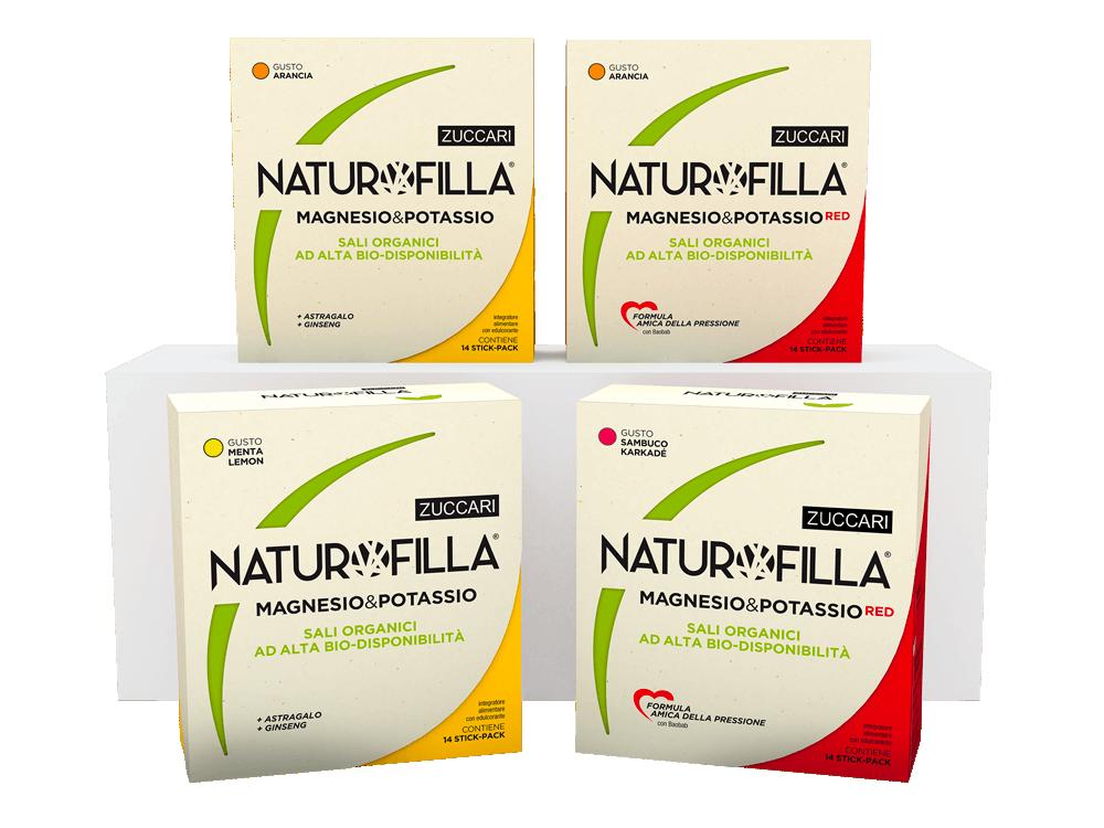 Naturofilla RED Sambuco e Karkadè con Baobab Formula Amica della Pressione