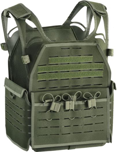 PLATE CARRIER DEFCON 5 GREEN OD