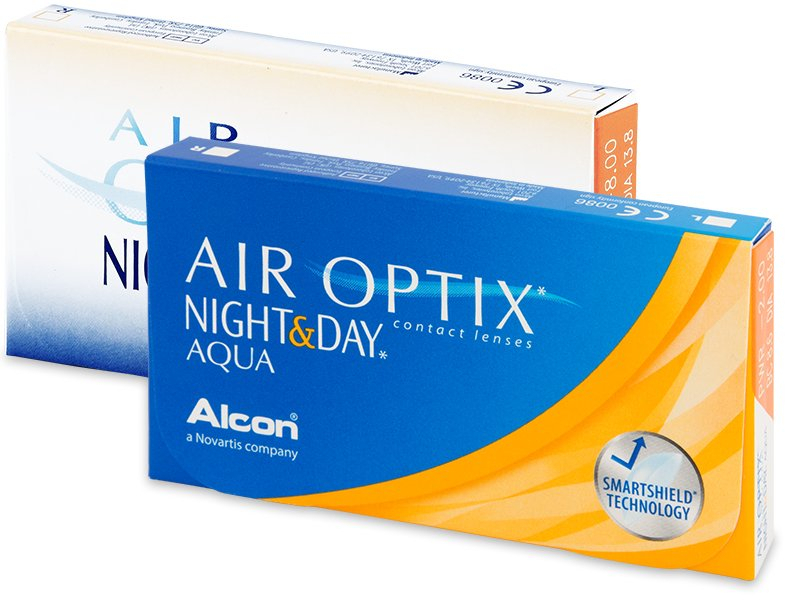 Air Optix Night and Day (6 lenti)