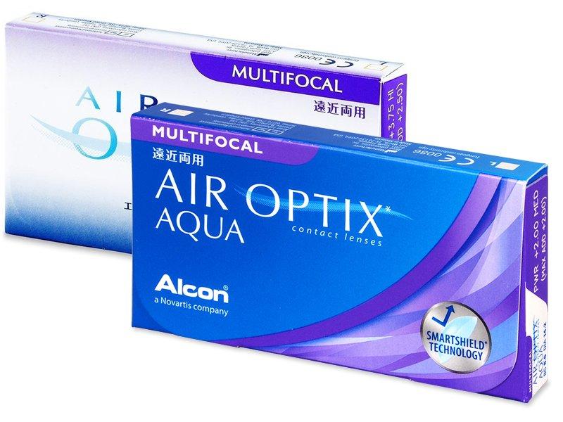 Air Optix Aqua Multifocal (6 lenti)