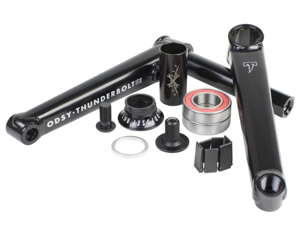 Odyssey Thunderbolt Cranks | Colore Black