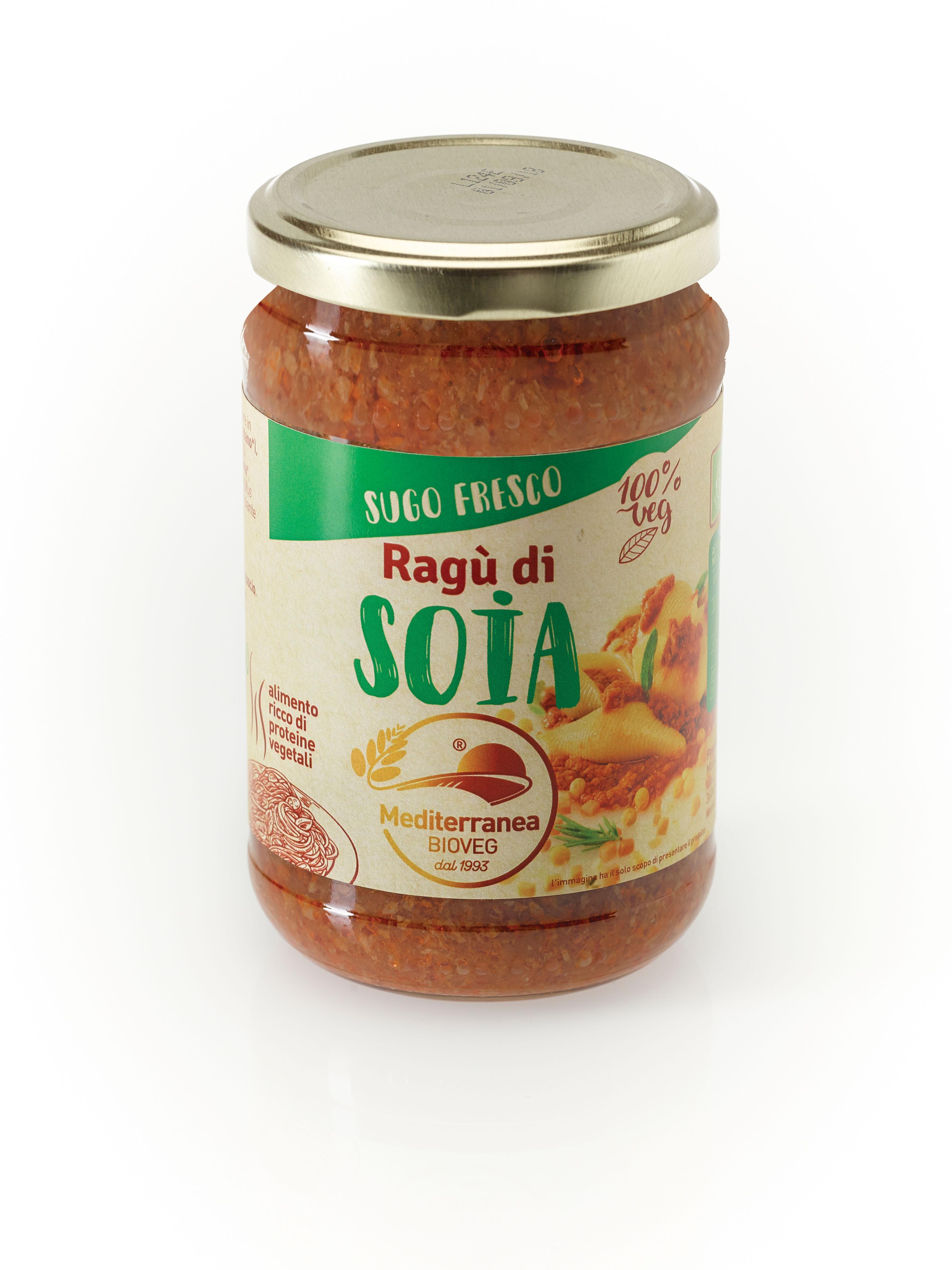 Ragù di soia sugo fresco