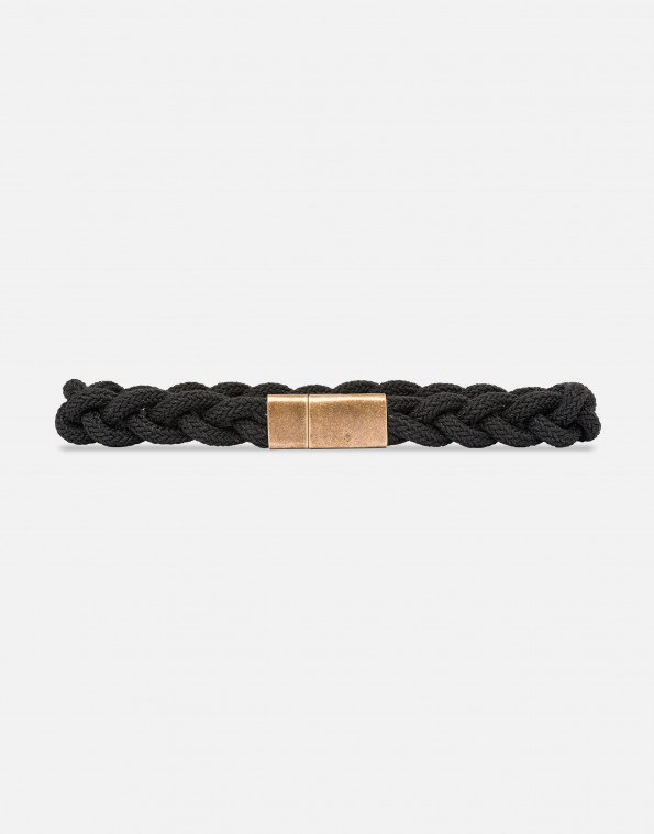 Cintura in corda nera